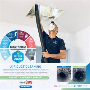 Green Air Duct Cleaning & Home Services of Bellaire