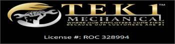 Tek1 Mechanical Commercial HVAC Contractors