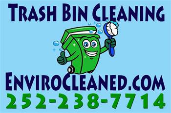 EnviroCleaned Trash Can Cleaning