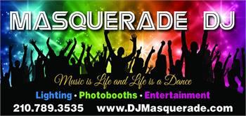 Masquerade DJ and Photo Booths AV Rental